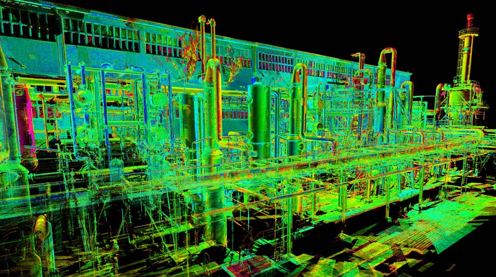 3D Laser Scan - Oil and Gas